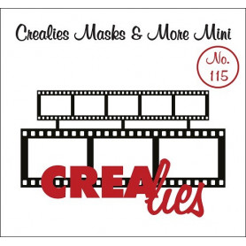 Pochoir Masks and More Mini 2 x filmstrip – Crealies