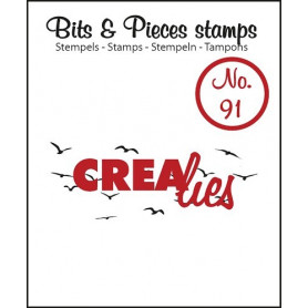 Tampon Birds in the sky small – Bits and Pieces no 91 - Crealies