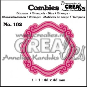 Combies Die + Tampon Frame B no 102 - Crealies