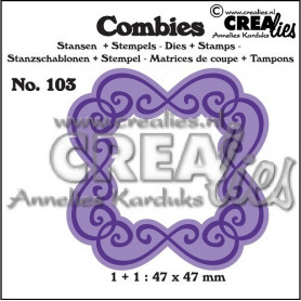 Combies Die + Tampon Frame C no 103 - Crealies