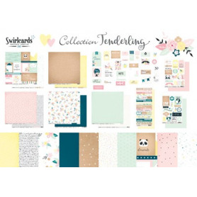 Kit scrapbooking Tenderling - Swirlcards
