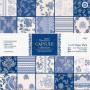 Set de papier 15x15 Parisienne Blue (32f) – Capsule Docrafts Papermania