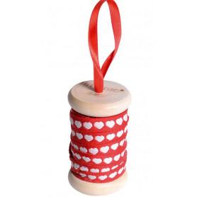 Ruban Coeurs rouges 10mm x 5 m – Artemio