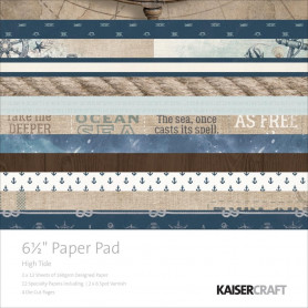 Set de papier 16,5x16,5 High Tide 40f – Kaisercraft