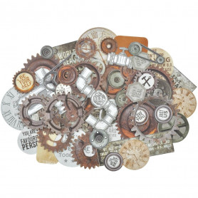 Die-cuts Factory 42 50pc - Kaisercraft