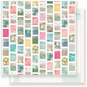 Papier 30x30 Postcard 1f – Collection Oasis Crate Paper