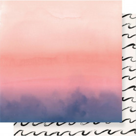Papier 30x30 Sunset 1f – Collection Oasis Crate Paper