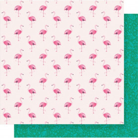 Papier 30x30 Fly Away 1f – Collection Oasis Crate Paper