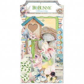 Die-cuts Serendipity 59pc - Bo Bunny Noteworthy
