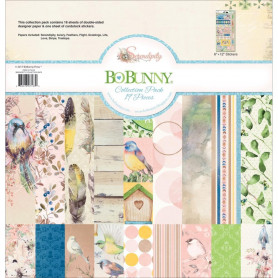 Set de papier 30x30 Serendipity 18f - Bo Bunny