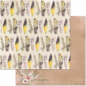 Papier 30x30 Feathers 1f – Bo Bunny Serendipity