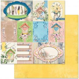 Papier 30x30 Songbird 1f – Bo Bunny Serendipity