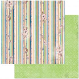 Papier 30x30 Stripe 1f – Bo Bunny Serendipity