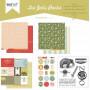 Joli pack Au Zoo – kit de scrapbooking – Kesi'art