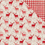 Papier 30x30 Reindeer Games 1f collection Merry & Bright Bo Bunny