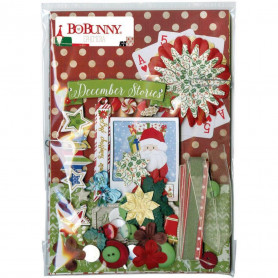 Kit d'embellissements Ephemera Merry & Bright - Bo Bunny