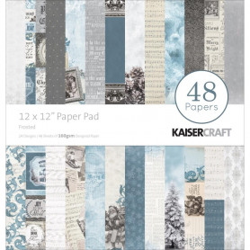 Set de papier 30x30 Frosted 48f - Kaisercraft