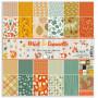 Set de papier 30x30 Miel et Cannelle 6f - Toga