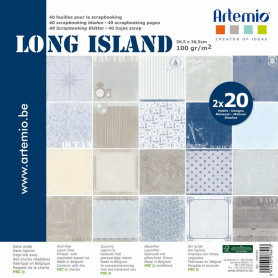 Set de papier 30x30 Long Island My Home My Deco 40f – Artemio