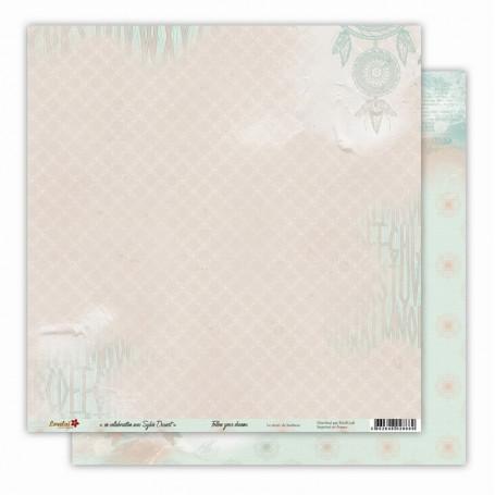 Papier 30x30 Le secret du bonheur 1f - Follow your dreams - Lorelaï Design