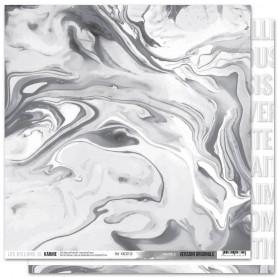 Papier 30x30 Marble 1f - Version Originale - Les ateliers de Karine