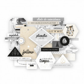 Die-cuts Version Originale 20pc - Les ateliers de Karine