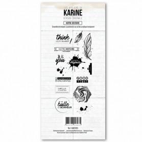 Tampons Notre histoire - Version Originale - Les ateliers de Karine