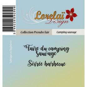 Tampons Camping sauvage - Prendre l'air - Lorelaï Design