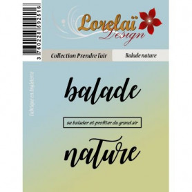 Tampons Balade nature - Prendre l'air - Lorelaï Design