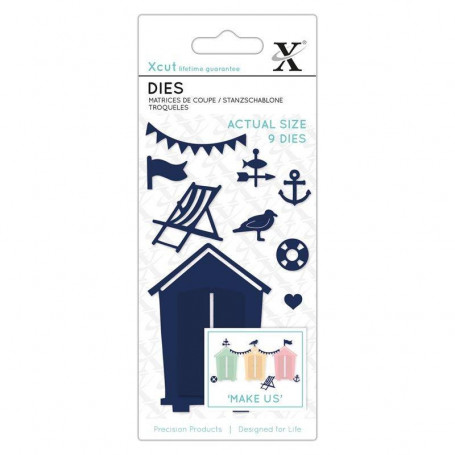 Dies Beach Hut 9pc - Xcut