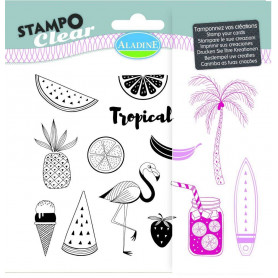 Tampons Stampo clear Floride - Aladine