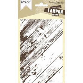 Tampon de fond Wood - Kesi'art