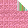Papier 30x30 Candy Stripe 1f – Collection Mint Twist Kaisercraft