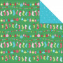 Papier 30x30 Trimmings 1f – Collection Mint Twist Kaisercraft