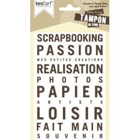 Tampon de fond Scrap - Kesi'art