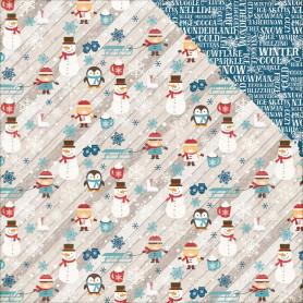 Papier 30x30 Winter Fun 1f - I Love Winter - Echo Park