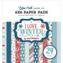 Set de papier 15x15 I Love Winter 24f – Echo Park