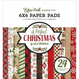 Set de papier 15x15 A Perfect Christmas 24f – Echo Park