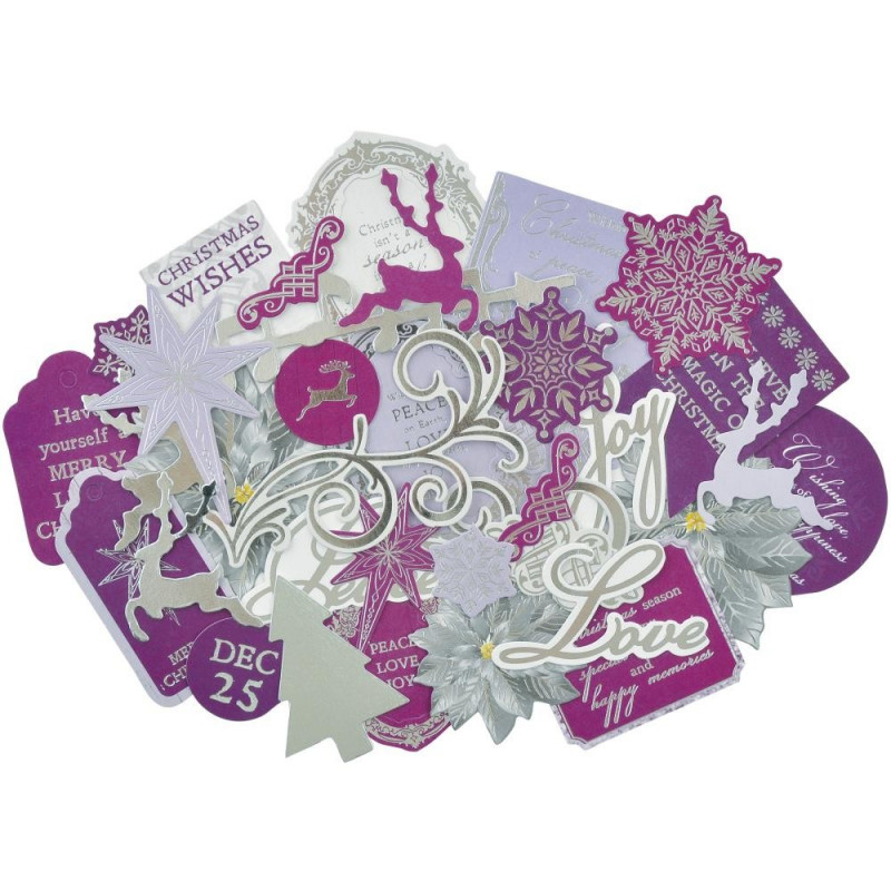 Die-cuts Christmas Jewel 35pc - Kaisercraft
