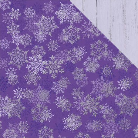 Papier 30x30 Gilded Snowflakes 1f – Collection Chistmas Jewel Kaisercraft