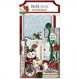 Die-cuts Tis The Season 44pc - Bo Bunny Noteworthy