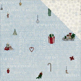 Papier 30x30 Yuletide 1f collection 'Tis The Season Bo Bunny