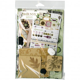 Kit d'embellissements Ephemera Garden Party - Bo Bunny