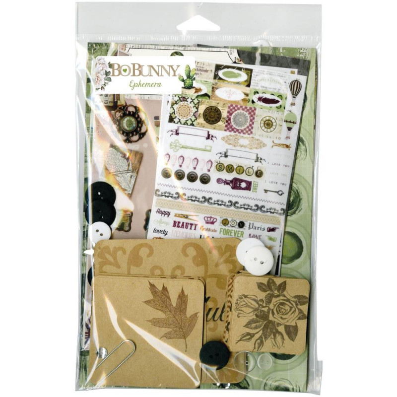 Kit d'embellissements Ephemera Garden Party - Bo Bunny