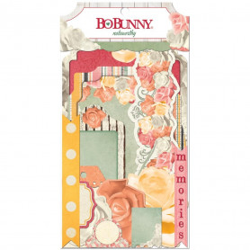 Die-cuts Aryia's Garden 29pc - Bo Bunny Noteworthy