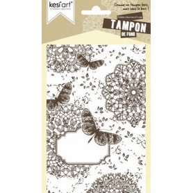 Tampon de fond Butterflies - Kesi'art