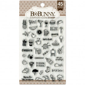 Tampons Everyday Icons 10x15 cm 45 pc - Bo Bunny