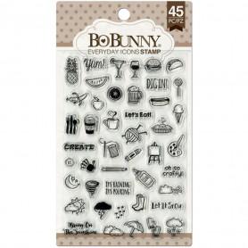 Tampons Everyday Icons 10x15 cm 45 pc - Bo Bunny