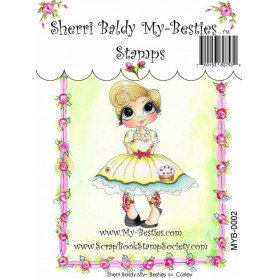 Tampon My Besties Carley – Sherry Baldy – Clear Stamp