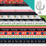 Papier 30x30 Borders 1f – Illustrated Faith Christmas